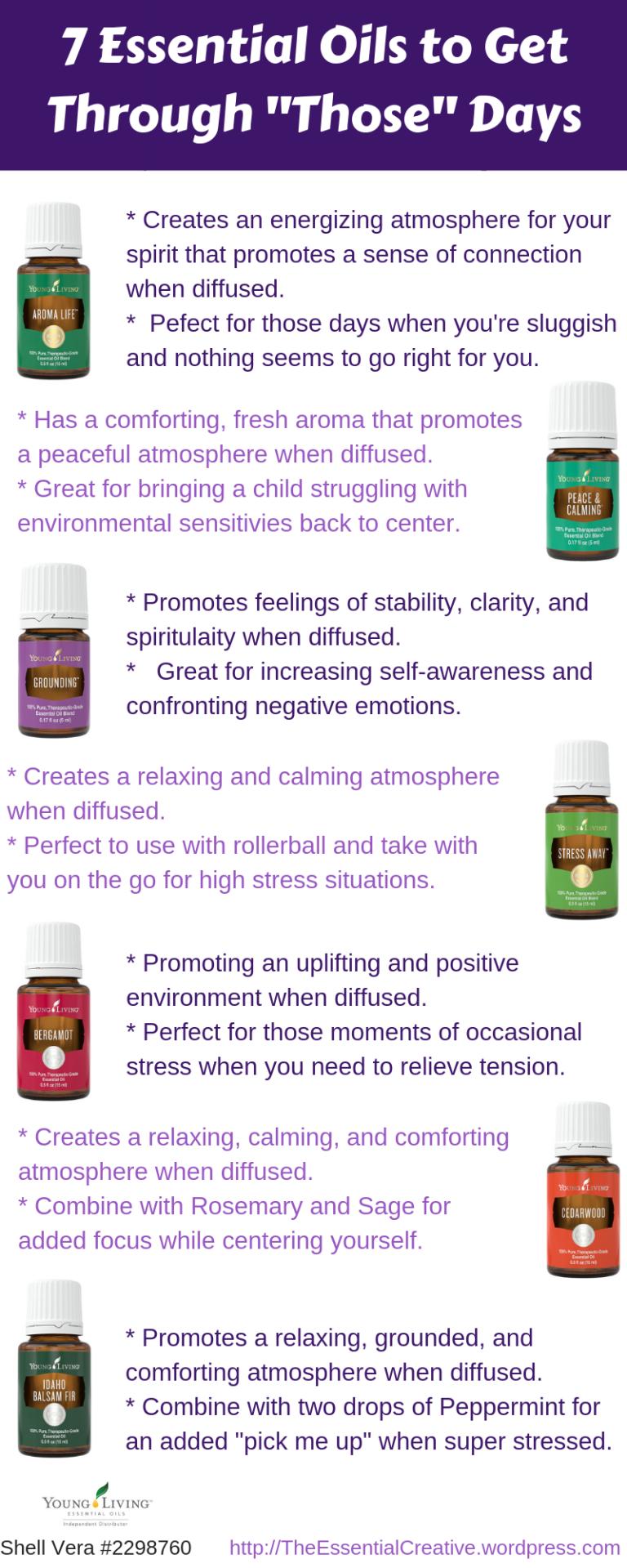 7 Essential Oils for _Those_ Days