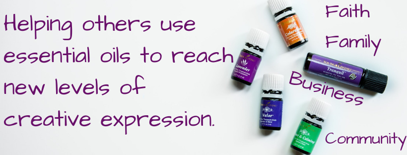 Helping others use essential oils to reach new levels of creative expression.