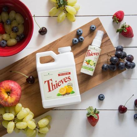 thieves veggies and fruit soak