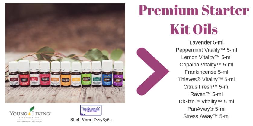 premium starter kit oils