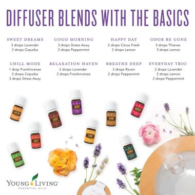 DiffuserBlends