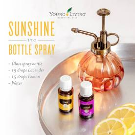 Lemon Lavender Sunshine In Bottle