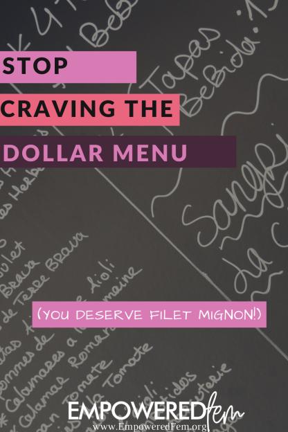 filet mignon not dollar menu
