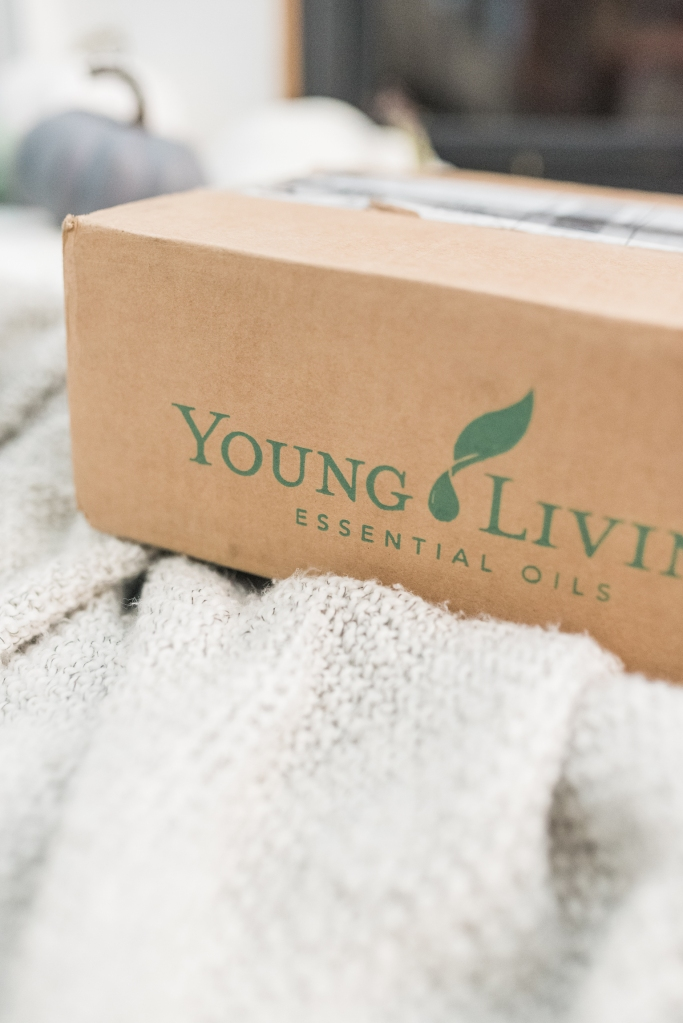Young Living Shipping Box
